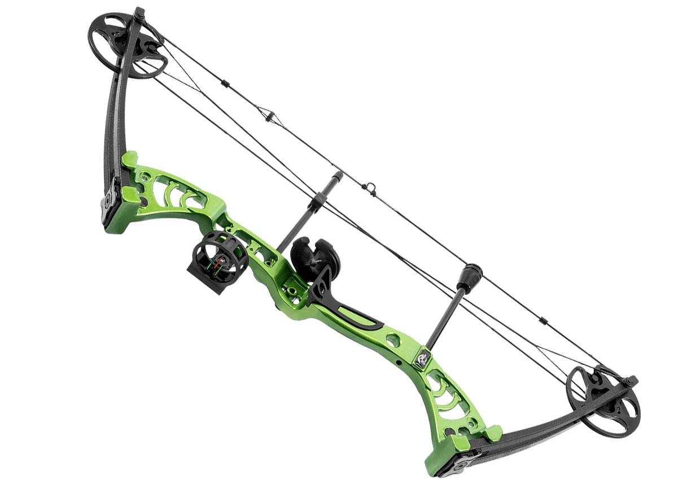 Лук блочный Man Kung MK-CB50 Aurora зеленый KIT
