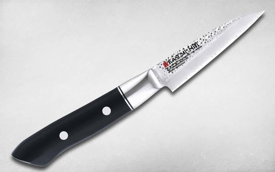 Нож кухонный для овощей Hammer Paring 90 мм, Kasumi, 72009, сталь VG-10, полимер, чёрный