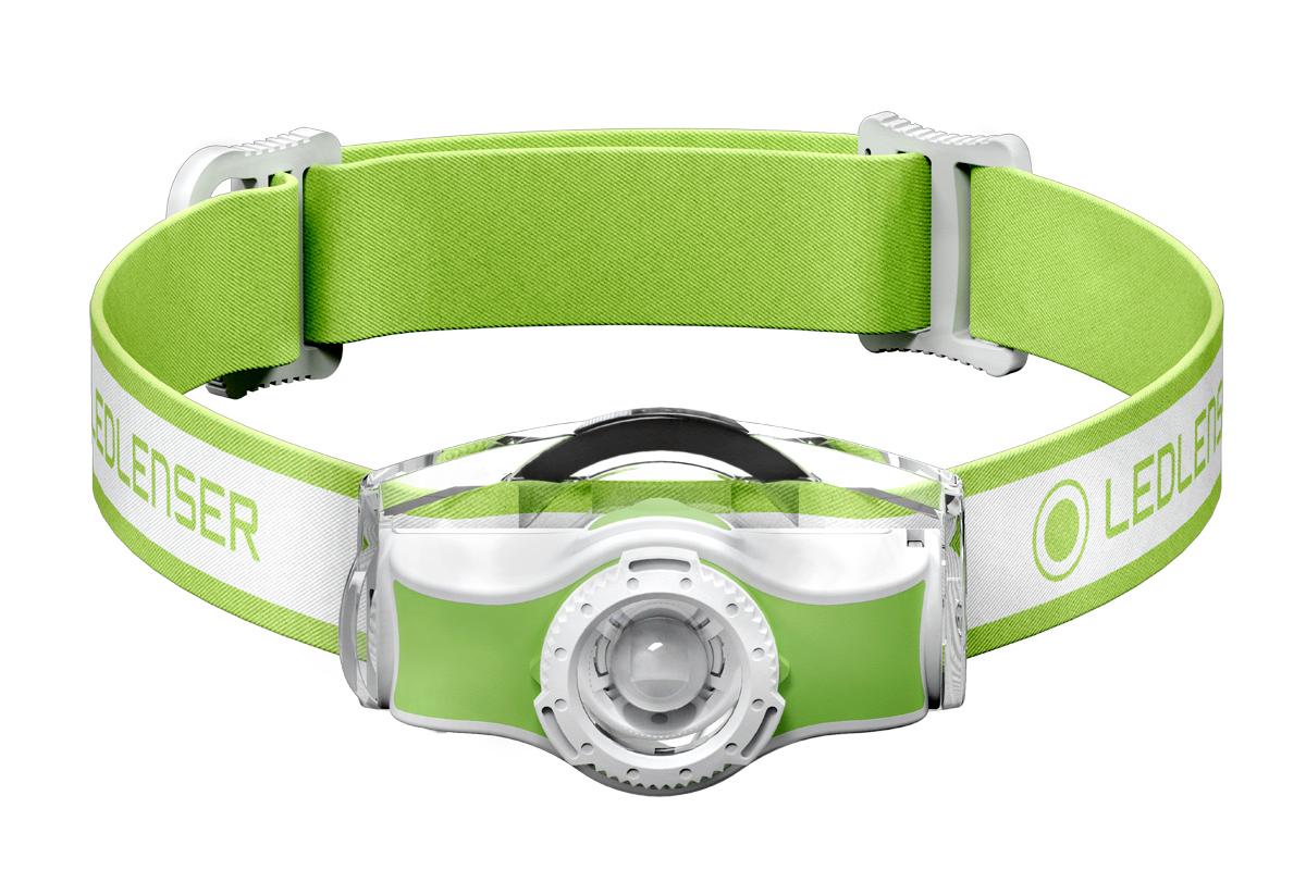 Фонарь светодиодный налобный LED Lenser MH3, зеленый, 200 лм, 1-АА фонарь led lenser mh3 green 501593