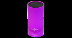 Подставка для ножей круглая HATAMOTO COLOR, фиолетовая, пластик, 110*225мм