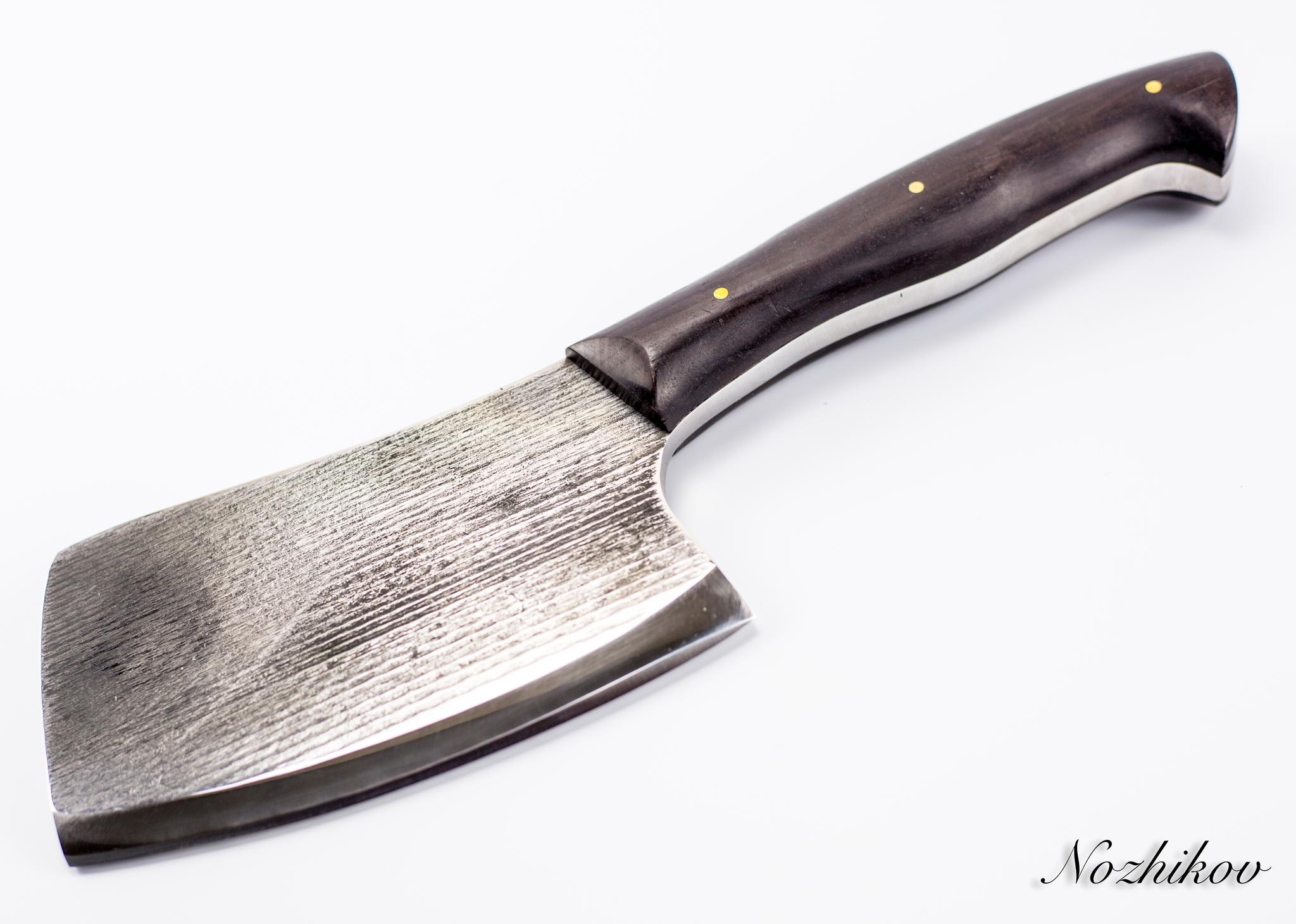 Фото 7 - Тяпка для мяса №2, сталь У8 от Мастерская Климентьева