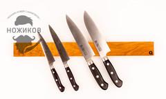 Магнитный держатель для ножей 45 см, дуб, фото 2