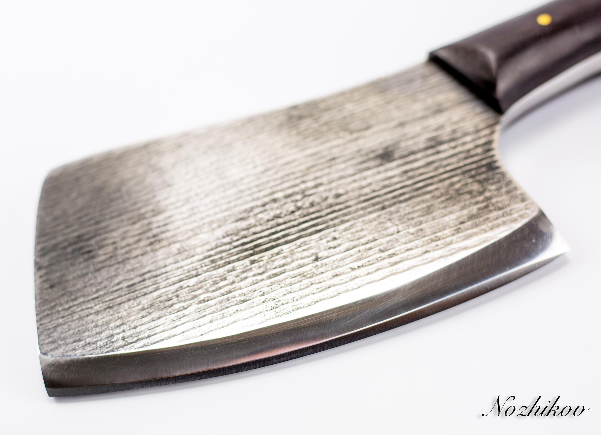 Фото 9 - Тяпка для мяса №2, сталь У8 от Мастерская Климентьева