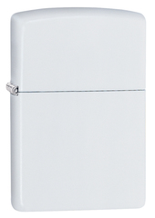 Зажигалка Zippo Classic с покрытием White Matte