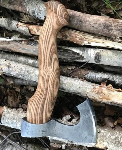 Топор модель №15, сталь ХВГ, Мастерская Ваулина