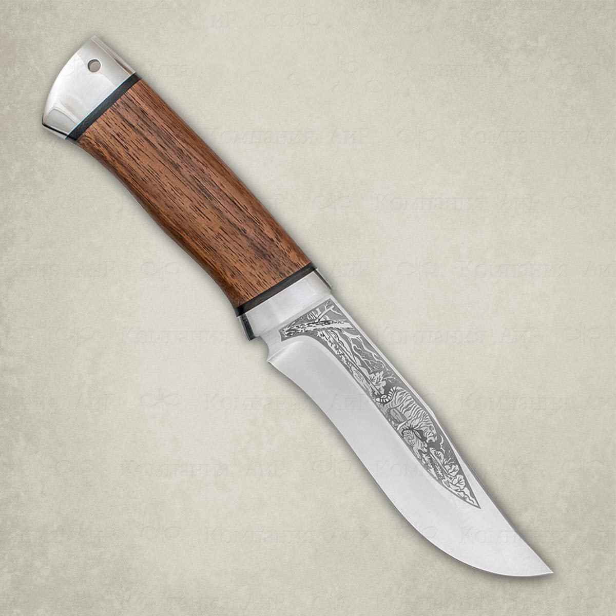 Нож разделочный АиР Клычок-3, сталь ЭП-766, рукоять дерево нож аир хазар сталь эп 766 рукоять дерево
