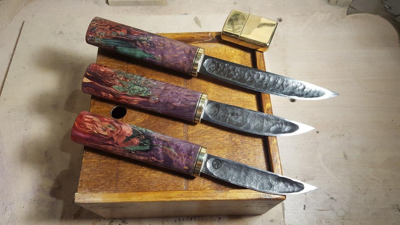 Ножи авторской мастерской Trenkle Knives