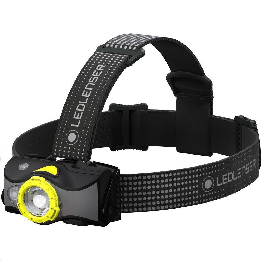 Фото - Фонарь светодиодный налобный LED Lenser MH7, черно-желтый, 600 лм фонарь светодиодный led lenser iw5r flex 600 лм