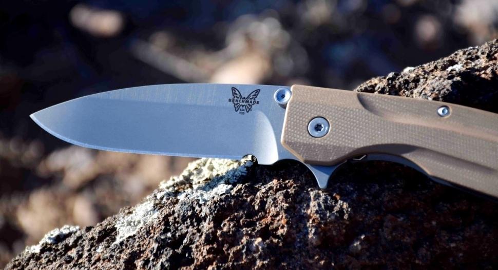 Фото 7 - Нож складной Benchmade Proxy 928 Warren Osborne's Design, сталь CPM-20CV, рукоять G10/титан