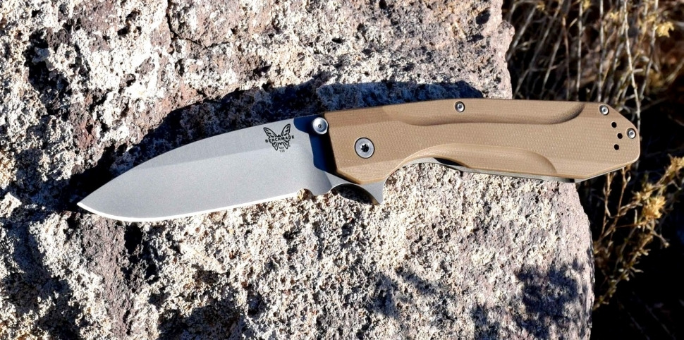 Фото 9 - Нож складной Benchmade Proxy 928 Warren Osborne's Design, сталь CPM-20CV, рукоять G10/титан