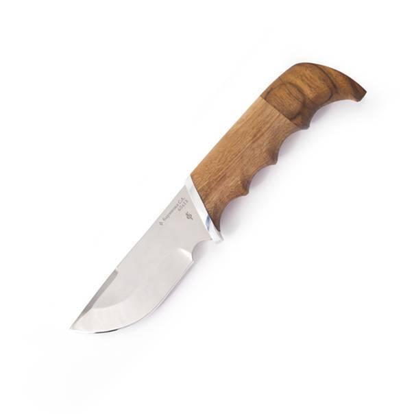 Фото 4 - Нож Бобр, сталь 95Х18, береста от Фабрика Баринова