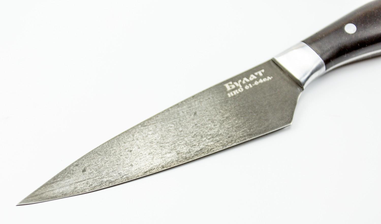 Фото 10 - Нож Кулинар малый, булатная сталь от Кузница Коваль