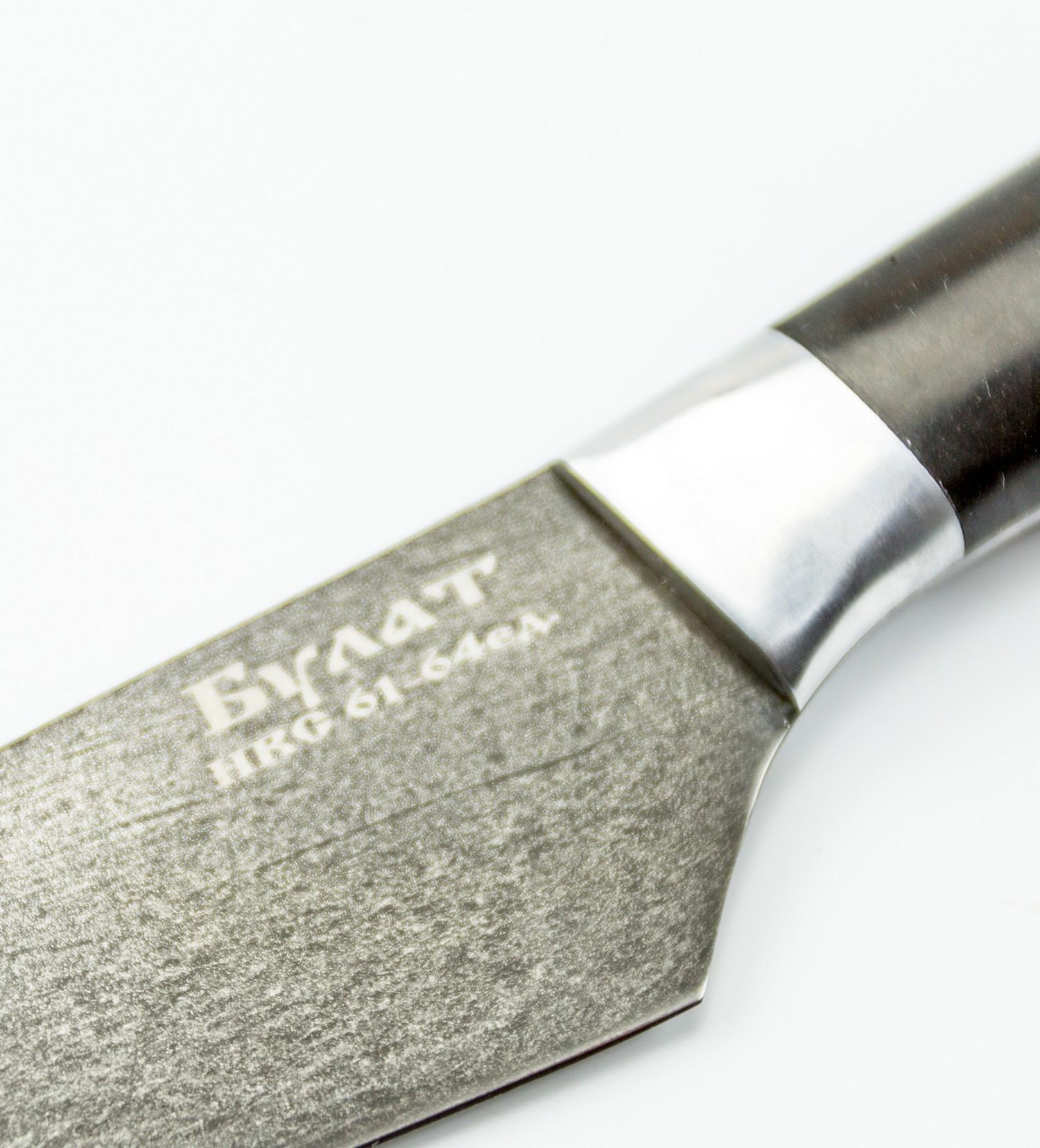 Фото 11 - Нож Кулинар малый, булатная сталь от Кузница Коваль
