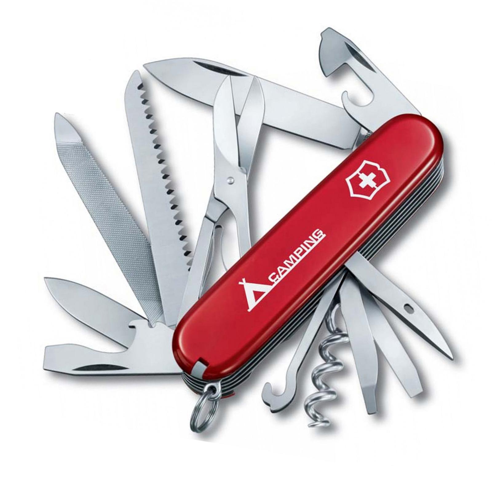 Нож перочинный Victorinox Ranger, сталь X55CrMo14, рукоять Cellidor®, красный