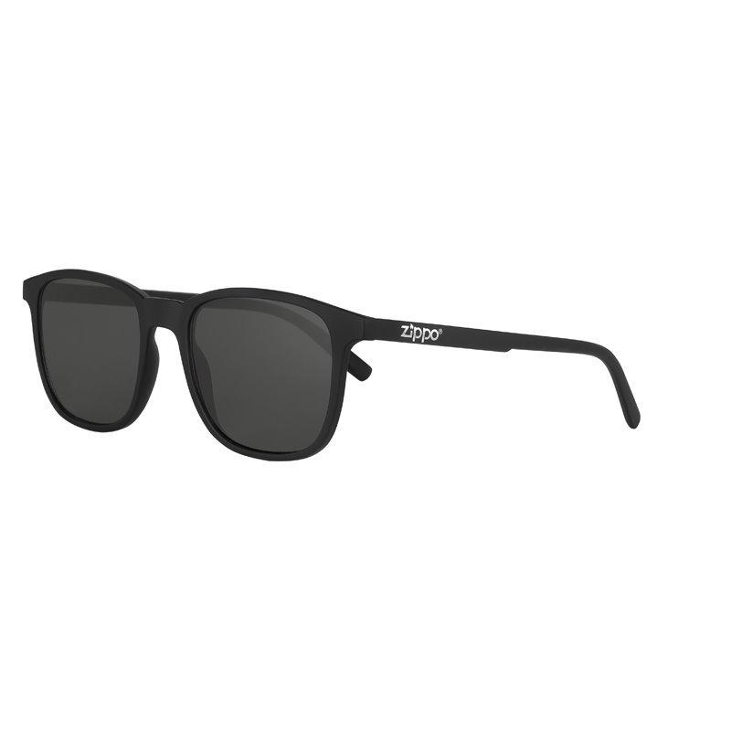 Фото - Очки солнцезащитные ZIPPO OB93-03, унисекс, чёрные, оправа из поликарбоната очки солнцезащитные zippo ob70 01 унисекс чёрные оправа из поликарбоната