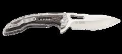 Складной нож CRKT Fossil Small, сталь 8Cr13MoV, рукоять нержавеющая сталь, накладки G-10, фото 10
