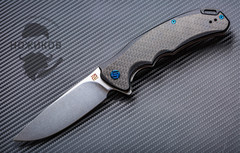 Складной нож Artisan Tradition, сталь S35VN, карбон