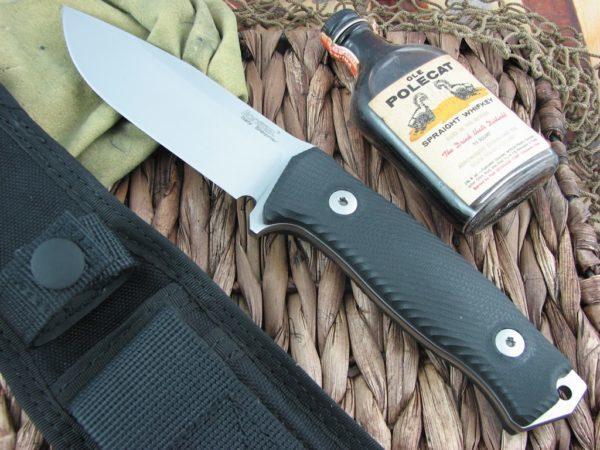 Фото 4 - Нож Lionsteel M5 G10, сталь Sleipner, рукоять G-10, черный от Lion Steel