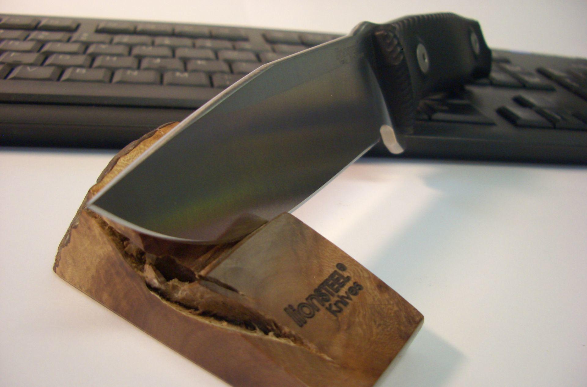 Фото 6 - Нож Lionsteel M5 G10, сталь Sleipner, рукоять G-10, черный от Lion Steel