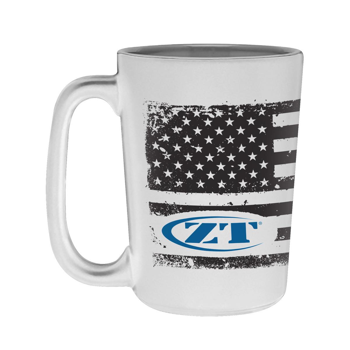 Кружка Zero Tolerance FLAG KMUGZT, белая