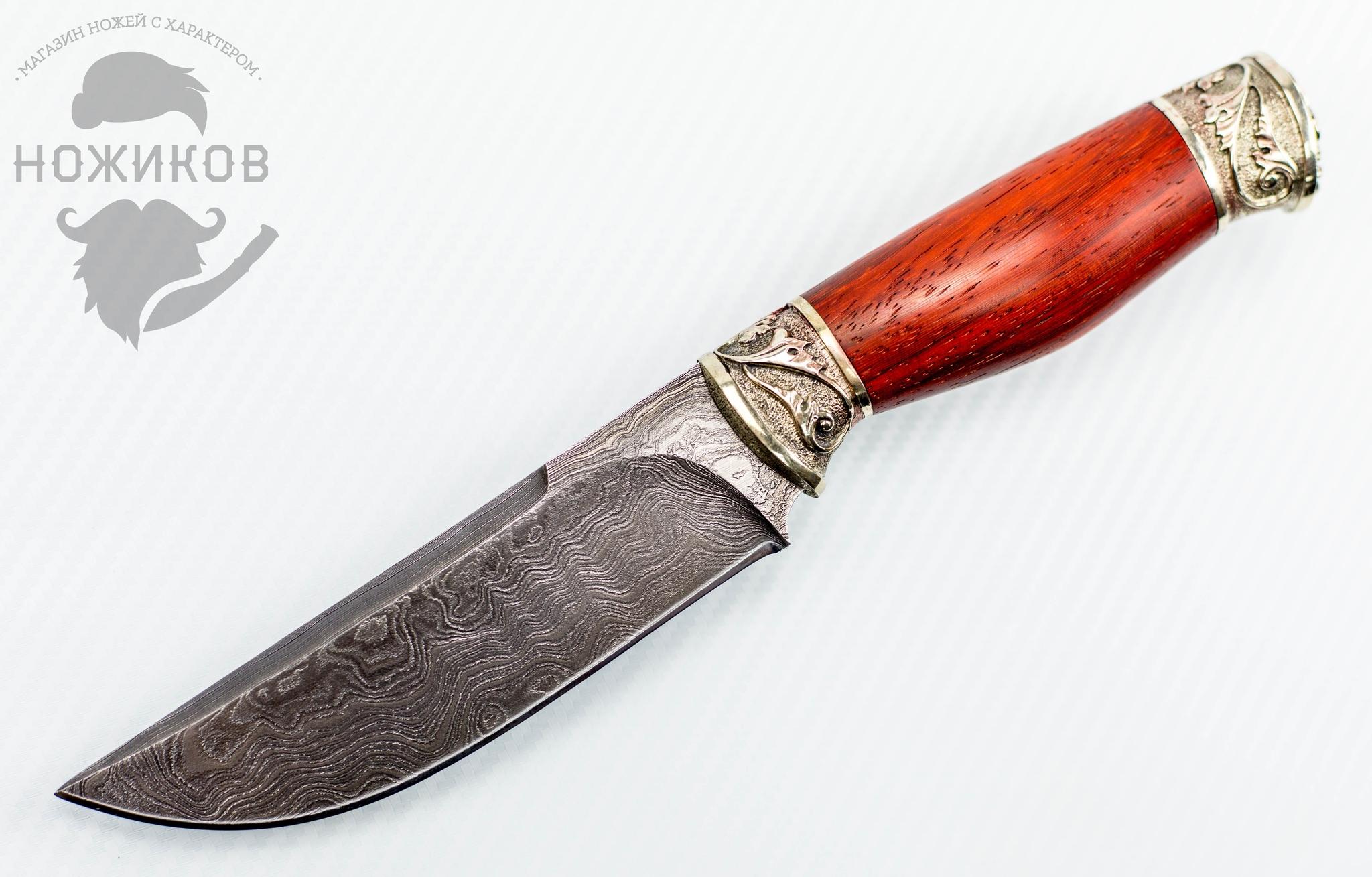 Авторский Нож из Дамаска №78, Кизляр от Noname