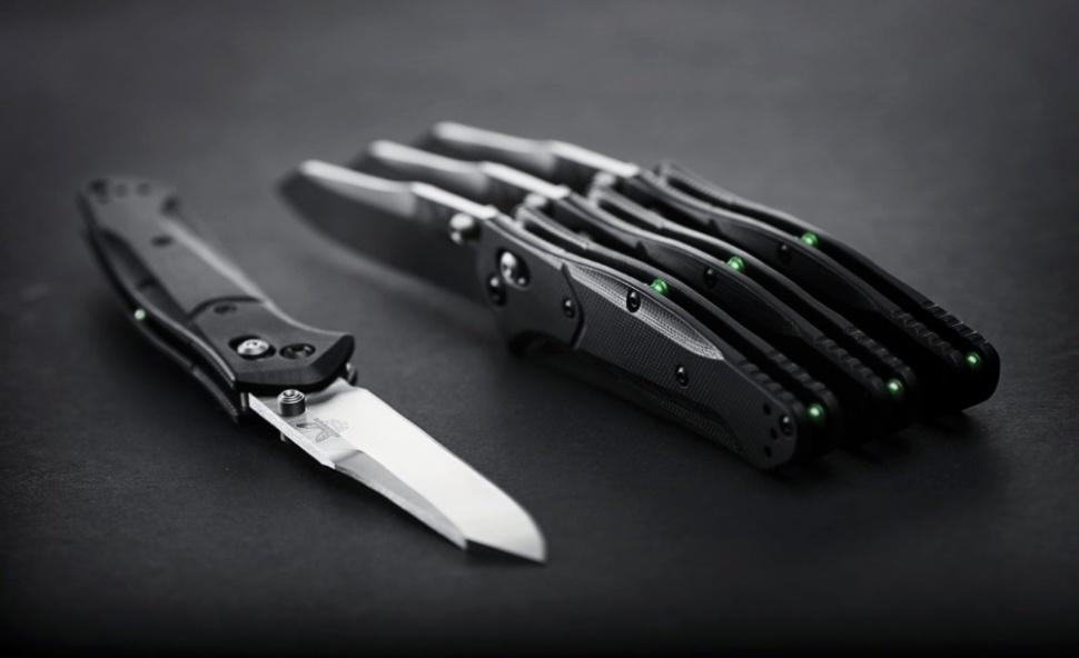 Фото 7 - Складной нож Benchmade Osborne 940-2, сталь CPM-S30V, рукоять G10