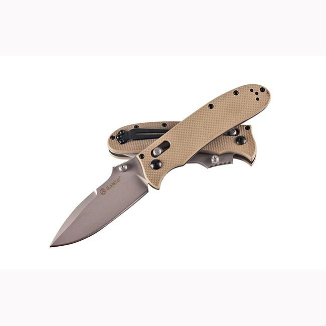 Нож Ganzo G704 желтый нож ganzo g704