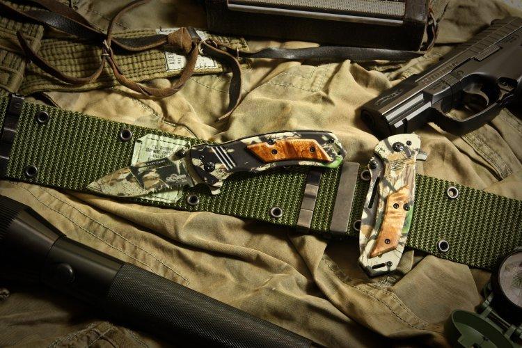 Фото 6 - Складной нож Target Camo от Ground Zero