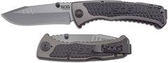 Полуавтоматический складной нож Sideswipe, SOG, 8.6 см.