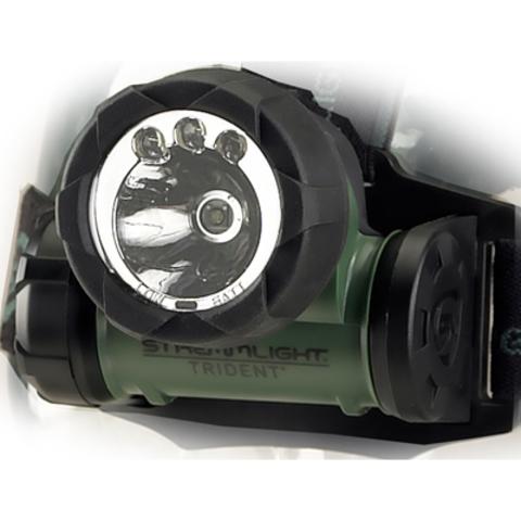 Фонарь светодиодный налобный Streamlight Headlamp Green Trident 61051. Вид 2
