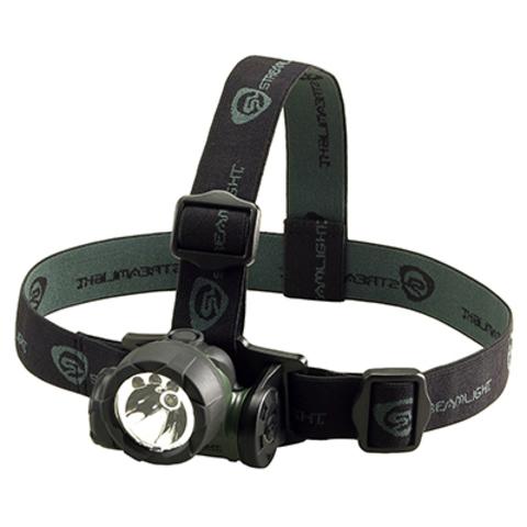 Фонарь светодиодный налобный Streamlight Headlamp Green Trident 61051. Вид 4