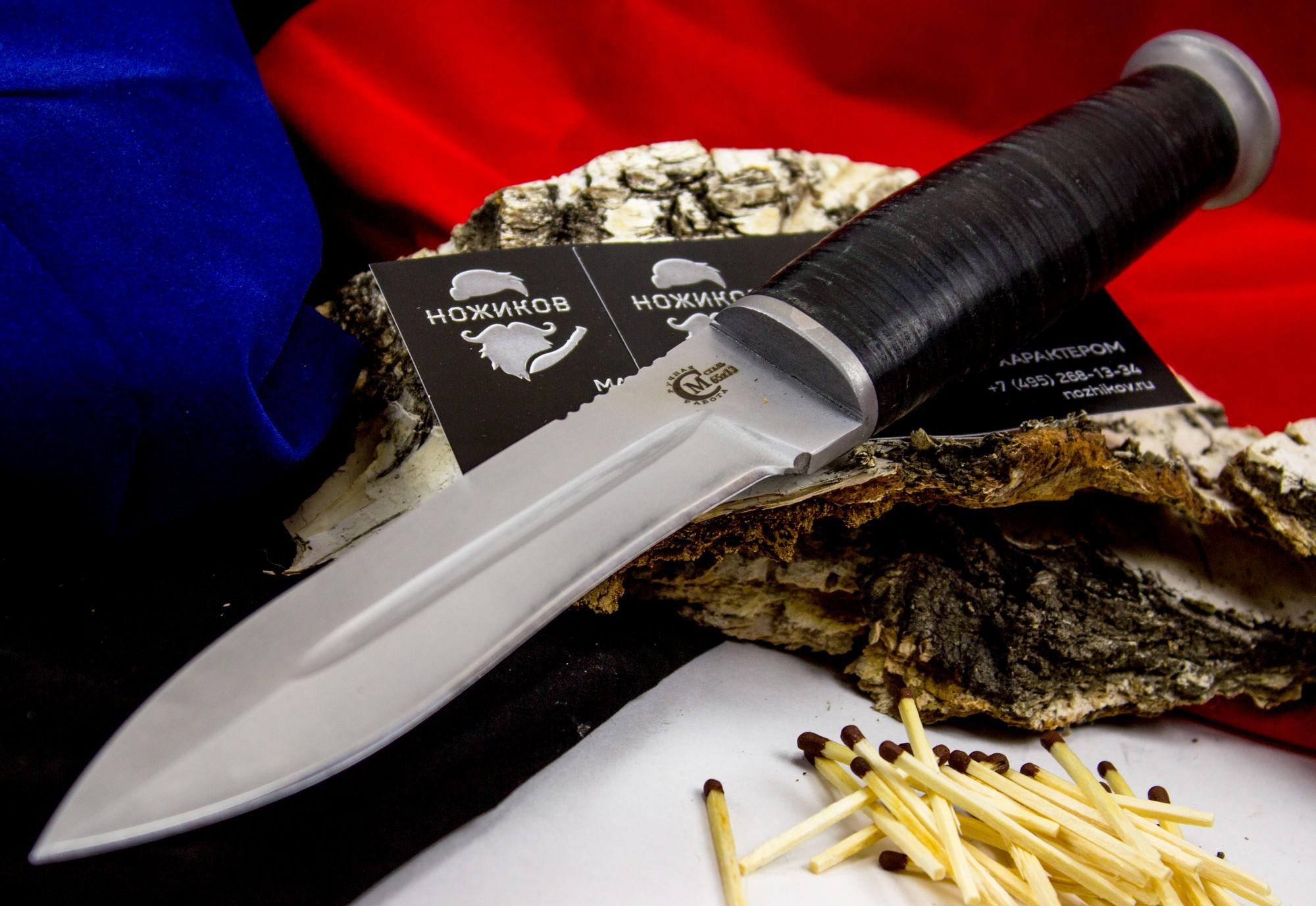 Фото 6 - Нож Ермак , сталь 65Х13 от Кузница Семина