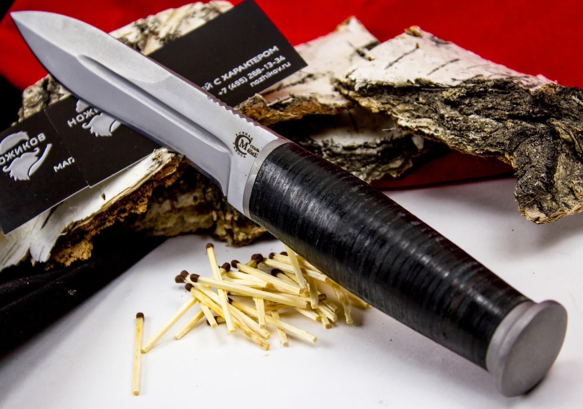 Фото 7 - Нож Ермак , сталь 65Х13 от Кузница Семина