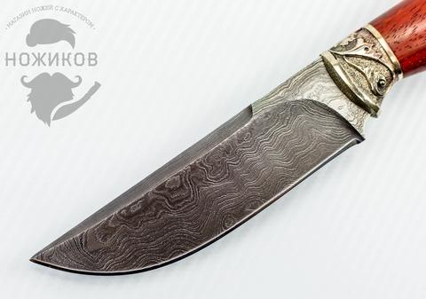 Авторский Нож из Дамаска №78, Кизляр. Вид 2