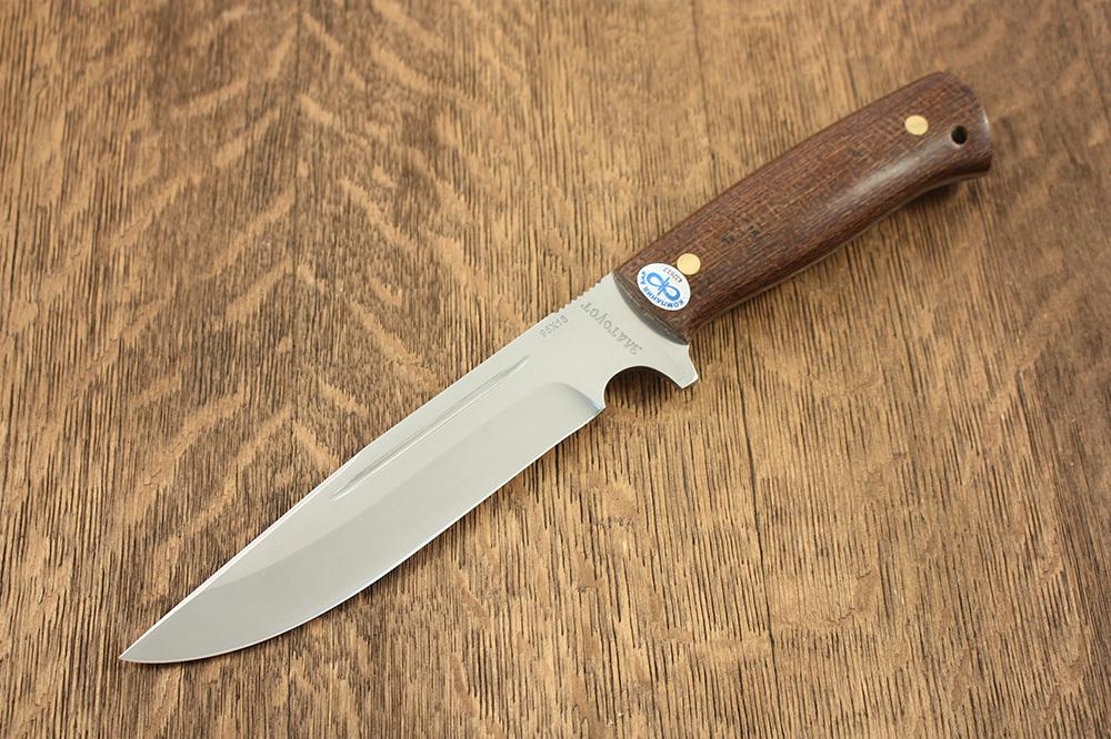 Нож разделочный Леший ЦМ, дерево, АиР