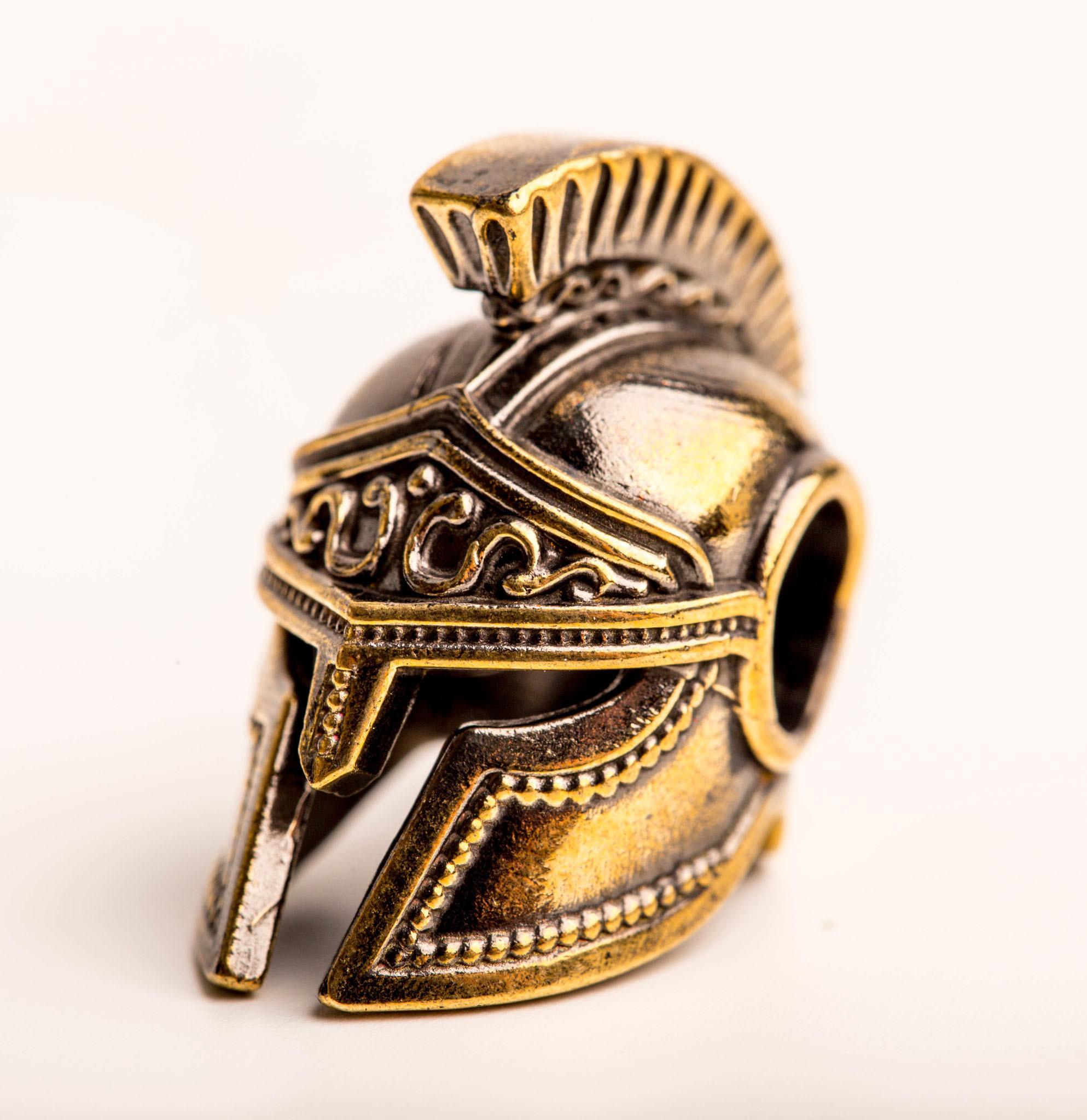 Бусина Спартанский шлем, бронза от Replica House