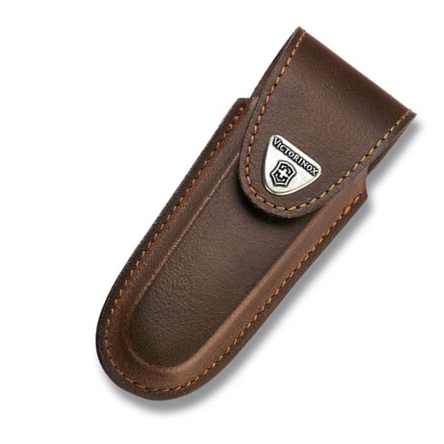 Чехол Victorinox Leather Belt Pouch, коричневый