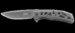 Складной нож CRKT Gusset™, сталь 8Cr13MoV, рукоять нержавеющая сталь, фото 2