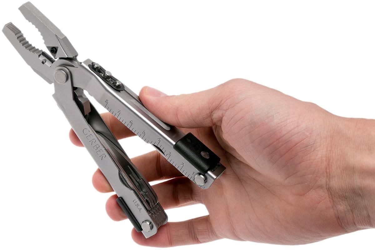 Фото 11 - Мультитул Gerber - MP 600 Stainless Steel Bluntnose, сталь 420HC, серебристый, 7500
