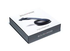Подарочный набор Bolin Webb X1, бритва X1 синяя, подставка X1 черная, фото 2