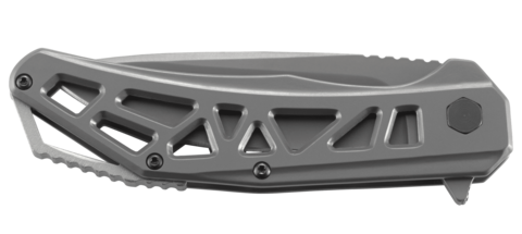 Складной нож CRKT Gusset™, сталь 8Cr13MoV, рукоять нержавеющая сталь