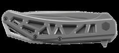 Складной нож CRKT Gusset™, сталь 8Cr13MoV, рукоять нержавеющая сталь, фото 10