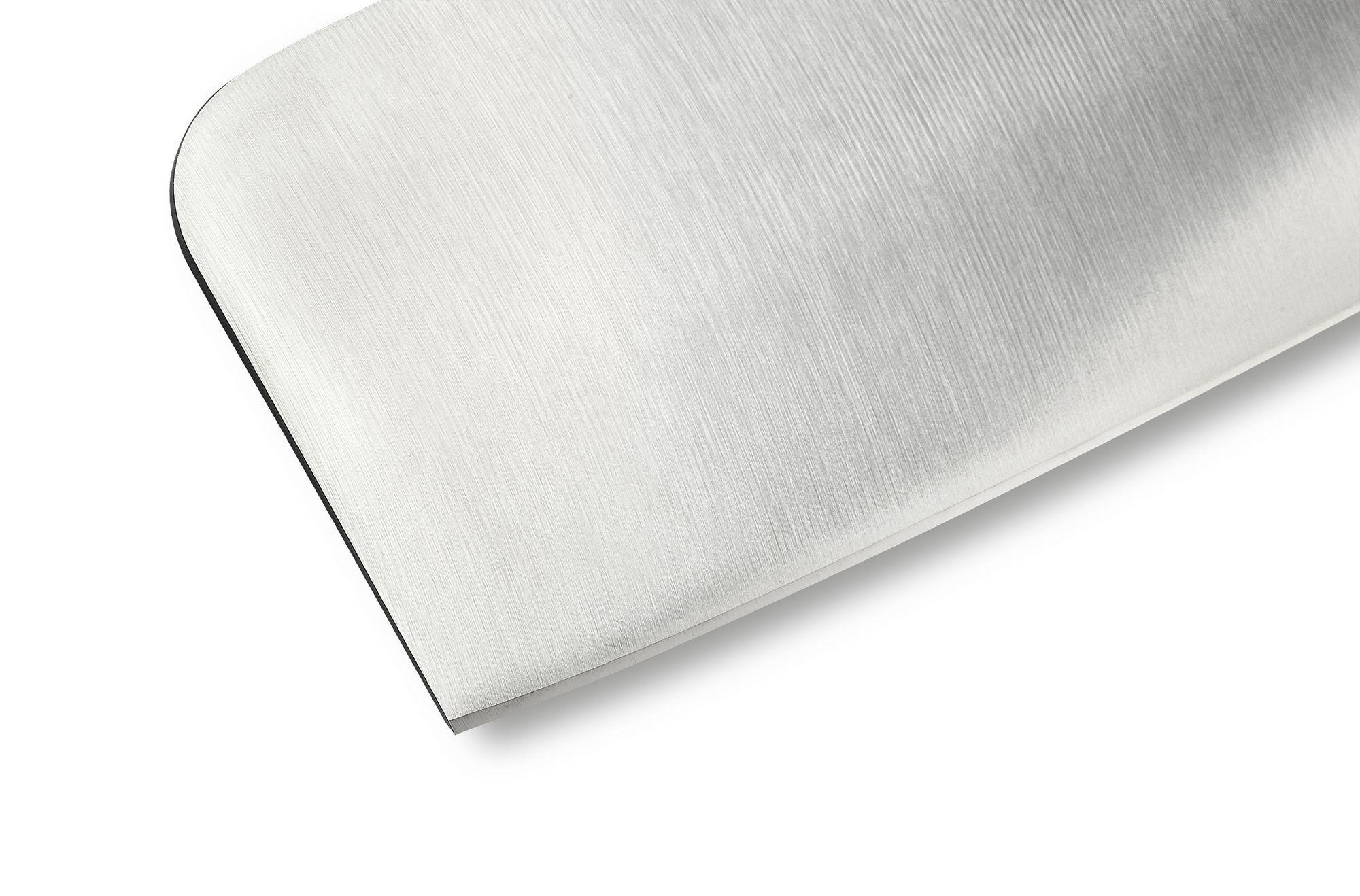 Фото 8 - Топорик кухонный для рубки мяса Samura Bamboo - SBA-0040, сталь AUS-8, рукоять сталь, 180 мм