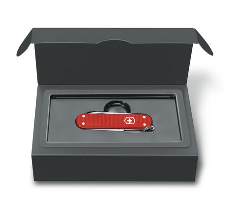 Нож перочинный Victorinox Alox Classic (0.6221.L18) 58 мм 5 функций, красный. Вид 2