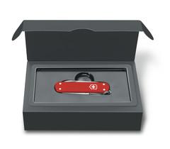 Нож перочинный Victorinox Alox Classic (0.6221.L18) 58 мм 5 функций, красный, фото 2