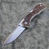 Нож складной Hide Folder, Stag Scales, Crucible CPM® S30V™, Tommaso Rumici Design 7.5 см. - купить в интернет магазине