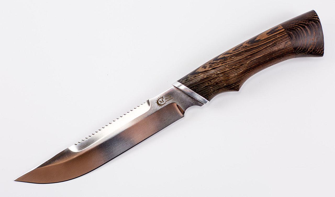 Нож Осётр,  сталь кованая 95х18, рукоять венге от Кузница Семина