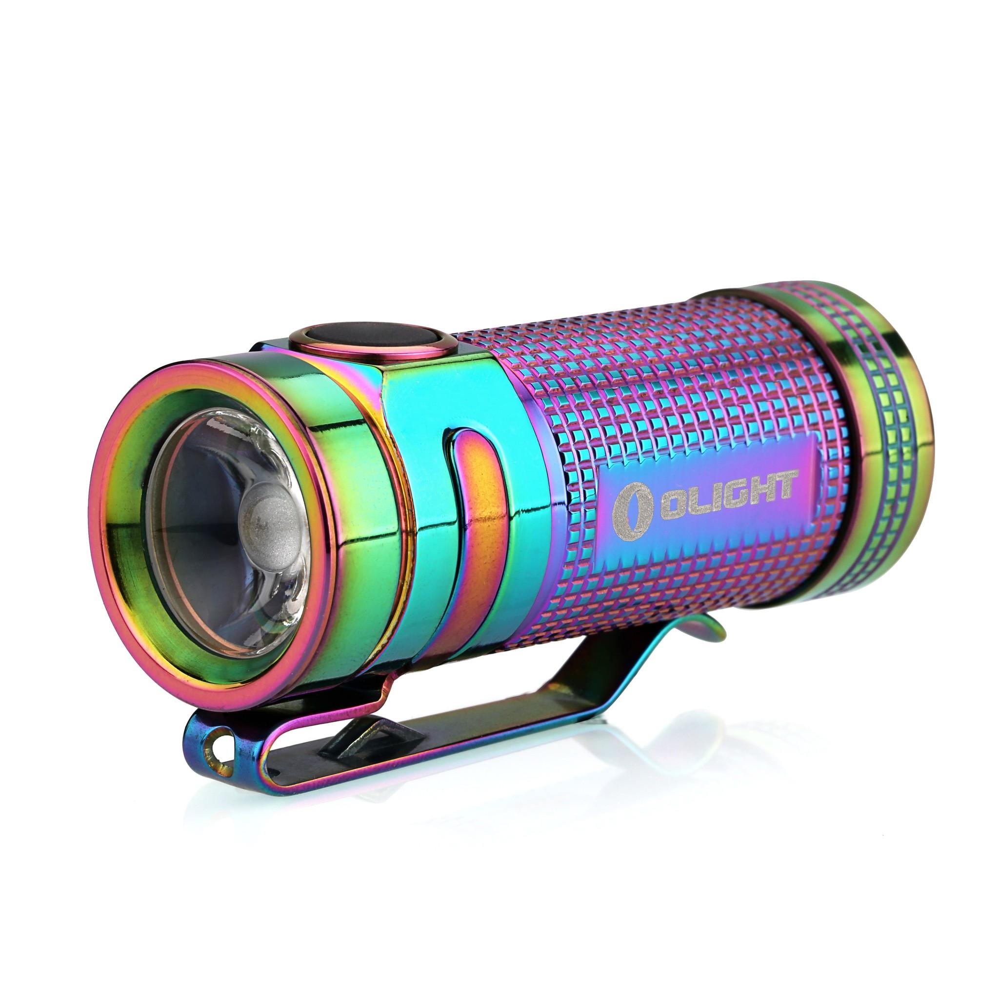 Фонарь Olight S Mini Ti Rainbow PVD Мультиколор