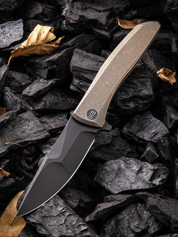 Складной нож WE Knife Scoppio Bronze, CPM 20CV