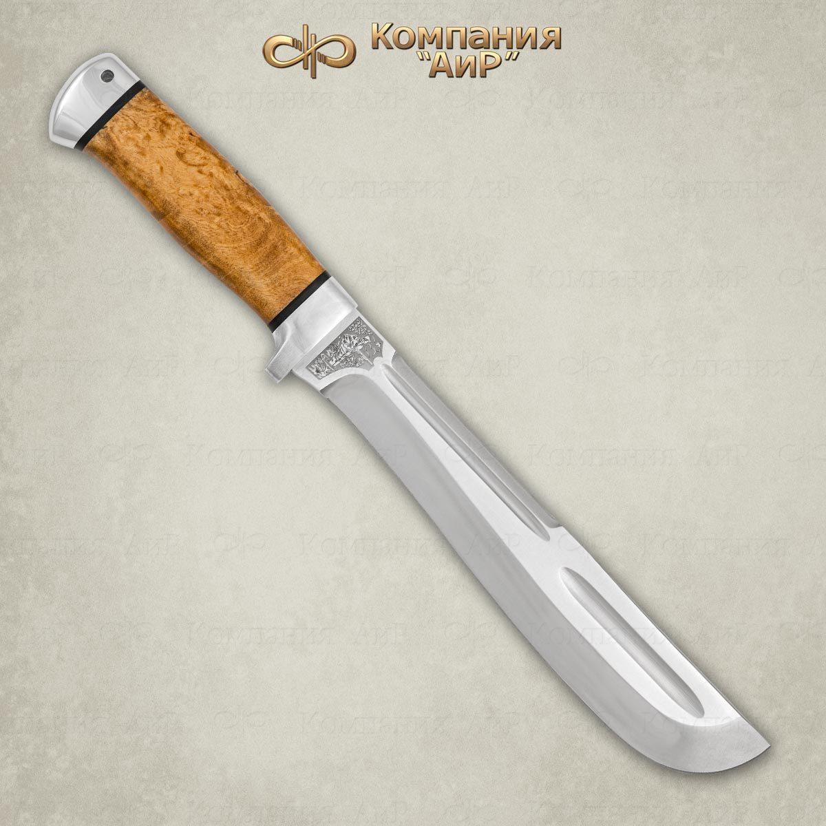 Мачете разделочный АиР Ицыл мачете, сталь 95х18, рукоять карельская береза мачете zombie killer